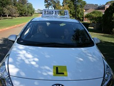 Driving lesson 400 x 266
